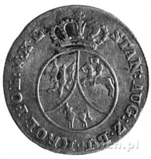 10 groszy miedzianych 1793, Warszawa, j.w., Plage 239, ...