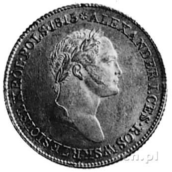 1 złoty 1827, Warszawa, Aw: Głowa i napis, Rw: Wieniec ...