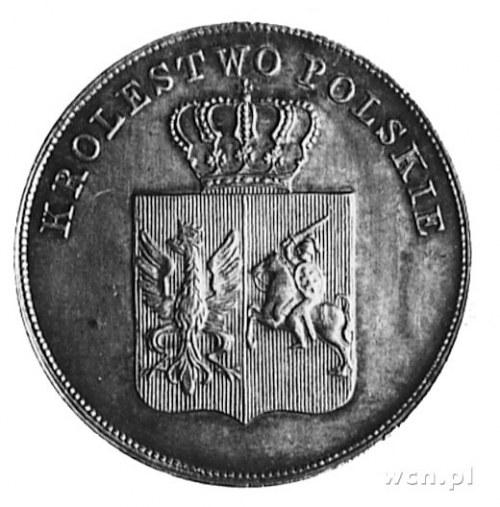 5 złotych 1831, Warszawa, Aw: Tarcza herbowa i napis, R...