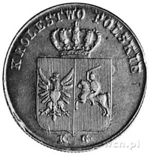 trojak 1831, Warszawa, Aw: Tarcza herbowa i napis, Rw: ...