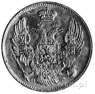 3 ruble=20 złotych 1834, Petersburg, Aw: Orzeł carski, ...