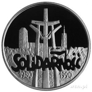 200.000 złotych 1990, Warszawa- 10-lecie Solidarności, ...