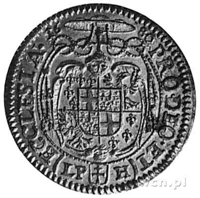 6 krajcarów 1680, Nysa, Aw: Popiersie Fryderyka Heskieg...