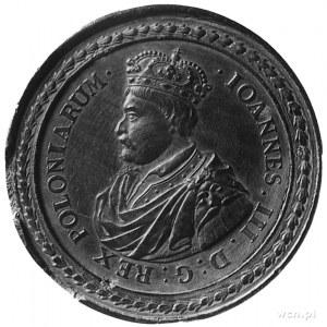 medal warcabowy sygnowany MB, pocz. XVIII w.,- Martin B...