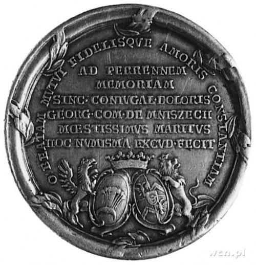 medal wybity w 1772 roku na zlecenie Jerzego Mnischa dl...