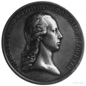 medal sygnowany J N Wirt, wybity w 1796 roku z okazji p...