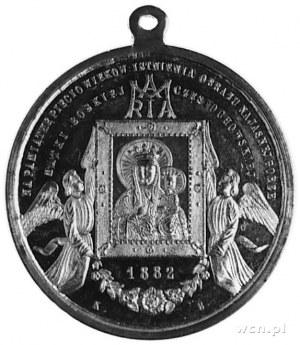 medal z uszkiem do zawieszania, sygnowany KB, wybity w ...