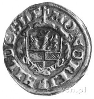 grosz 1616, Aw: Jabłko, w otoku napis i data, Rw: Herb ...