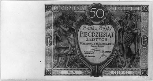50 złotych 15.08.1925, Pick 64, Parchimowicz 36a.II