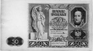 50 złotych 11.11.1936, AB 1587460, Pick 78, Parchimowic...