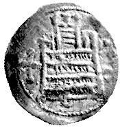 denar ok. 1190- 1210, mennica Głogów lub Legnica, Aw: K...