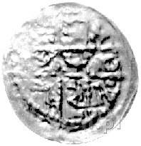 denar 1177- 1201, mennica Wrocław potem Racibórz, Aw: K...