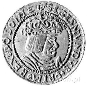 trojak koronny 1528, fałszerstwo prawdopodobnie XIX-wie...