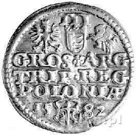 trojak 1582, Olkusz, Kurp. 155 R1, Gum. 704