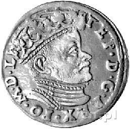 trojak 1584, Wilno, Kurp. 309 R1, Gum. 761, patyna