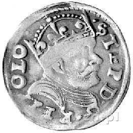 trojak 1586, Poznań, drugi egzemplarz