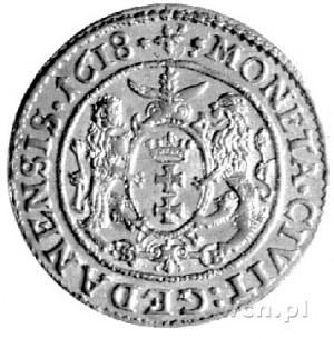 ort 1618, Gdańsk, Kurp. 2247 R1, Gum. 1386, pod herbem ...
