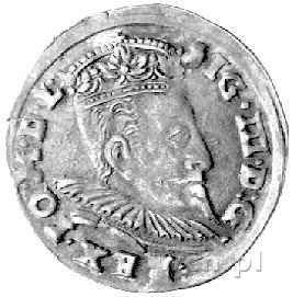 trojak 1596, Wilno, Kurp. 2141 R7, H-Cz 5052 R6, T. 18,...