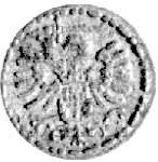 denar 1590, Gdańsk, Kurp. 2200 R3, Gum. 1368, patyna