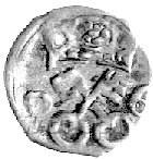 denar 1606, Poznań, Kurp. 1783 R4, Gum. 1466, T. 4
