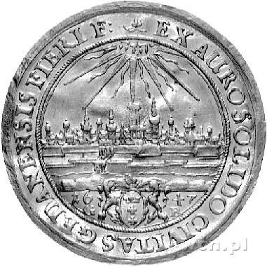 dwudukat /donatywa/ 1647, Gdańsk, H-Cz 1866 R2, Fr. 21a...