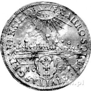 dwudukat /donatywa/ 1651, Gdańsk, H-Cz 1970 R3, Fr. 31,...