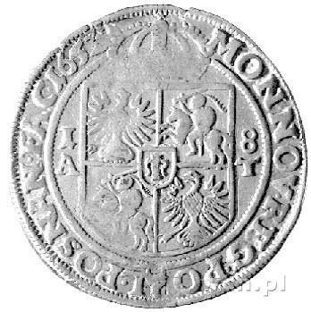 ort 1652, Poznań, Kurp. 335 R4, Gum. 1738, T. 18, rzadk...