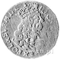 trojak 1662, Kraków, Kurp. 110 R, Gum. 1675, wada blach...