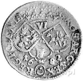 szóstak 1682, Kraków, Kurp. 1206 R1, Gum. 2006