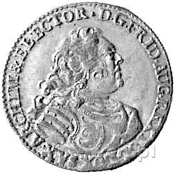 grosz wikariacki 1740, Drezno, Kam. 1516 R, Merseb. 169...
