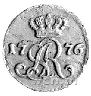 szeląg 1776, Warszawa, Plage 9, rzadki