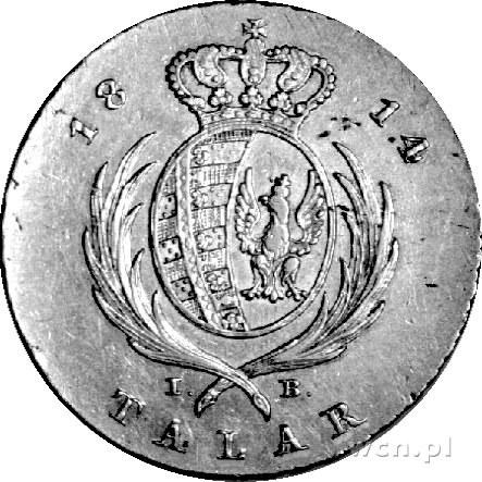 talar 1814, Warszawa, Plage 116, Dav. 247, rzadka, ładn...
