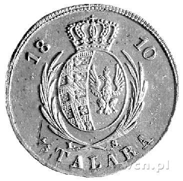 1/3 talara 1810, Warszawa, drugi egzemplarz, minimalne ...