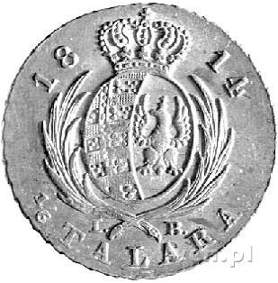 1/6 talara 1814, Warszawa, Plage 107, minimalna wada bl...