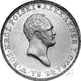 50 złotych 1819, Warszawa, Plage 4, Fr. 107, złoto, 9,7...