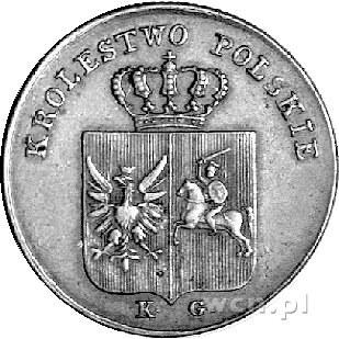3 grosze 1831, Warszawa, Plage 282, patyna