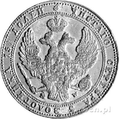 3/4 rubla = 5 złotych 1839, Warszawa, Plage 363, lekko ...
