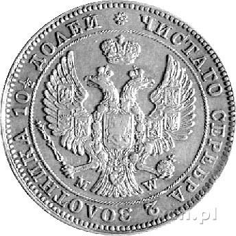 połtina 1844, Warszawa, Plage 445, ogon orła wachlarzow...