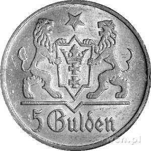5 guldenów 1923, Utrecht, Kościół Marii Panny
