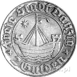 2 guldeny 1932, Gdańsk, Koga, drugi egzemplarz