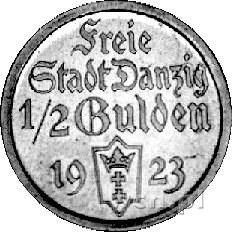 1/2 guldena 1923, Utrecht, Koga