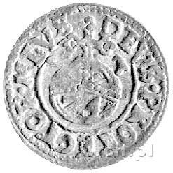grosz 1621, Darłowo, Aw: Gryf i napis w otoku VLRIC9 I ...