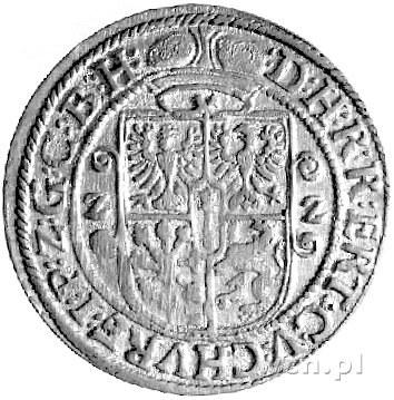 ort 1622, Królewiec, Bahr. 1422, skrócona data Z-Z, ład...