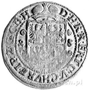 ort 1623, Królewiec, Bahr. 1142, data przebita z 22 na ...