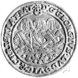 dukat 1658, Brzeg, F. u S. 1767, Fr. 3200, złoto, 3,39 ...