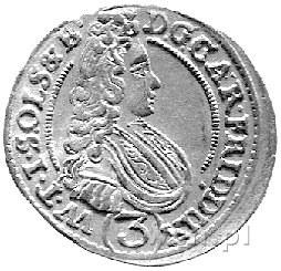 3 krajcary 1708, Oleśnica, F. u S. 2459