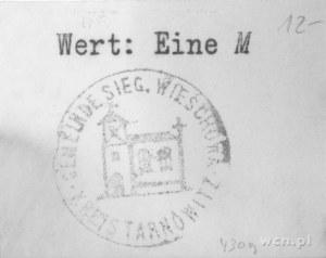 Wieszowa (Wieschowa)- 1 marka (1914), Keller 430.9