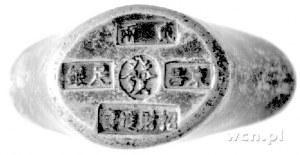 Chiny- sztabka srebrna w kształcie łódeczki; napisy chi...
