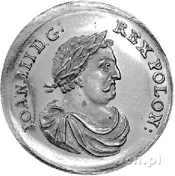 medal dwudukatowy nieznanego autora wybity z okazji wyb...