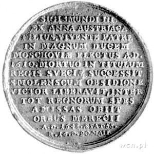 medal autorstwa J.J. Reichla przedstawiający Wladysława...